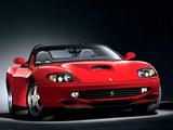 法拉利跑车-法拉利550