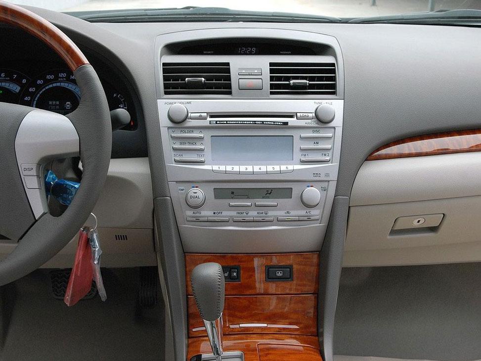 丰田 凯美瑞 2008款 240g 豪华版 中控方向盘图片 1177 1320 咨询底价