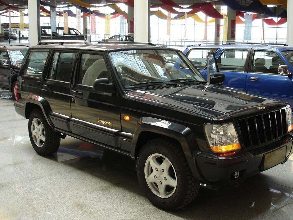 jeep 官方资料图 出售04年北京jeep切诺基.收 帕杰高清图片