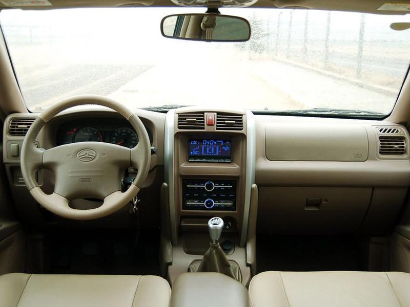 长城汽车2007款哈弗H32.44G69四驱豪华型宝骏530suv自动挡报价多少图片