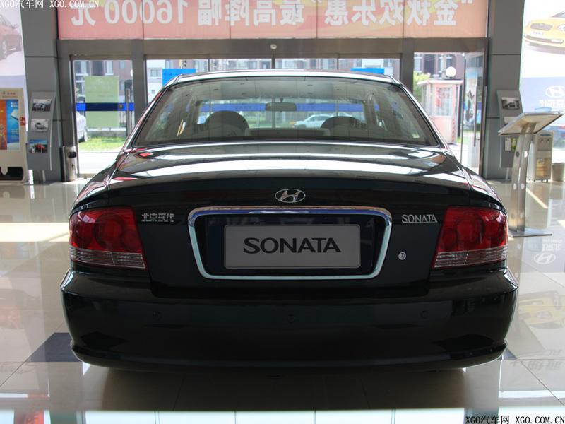北京现代2006款 索纳塔 2.0GL 手动标准型车身外观图片1484497 高清高清图片
