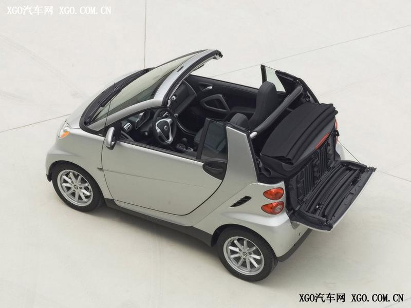 smart fortwo 车身外观第40张高清图片