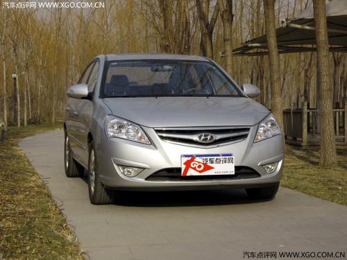 有现车销售 北京现代悦动最高优惠1万元