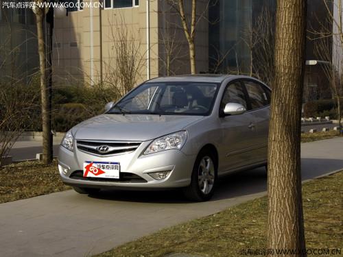 时尚家用车 北京现代悦动累计优惠1万元
