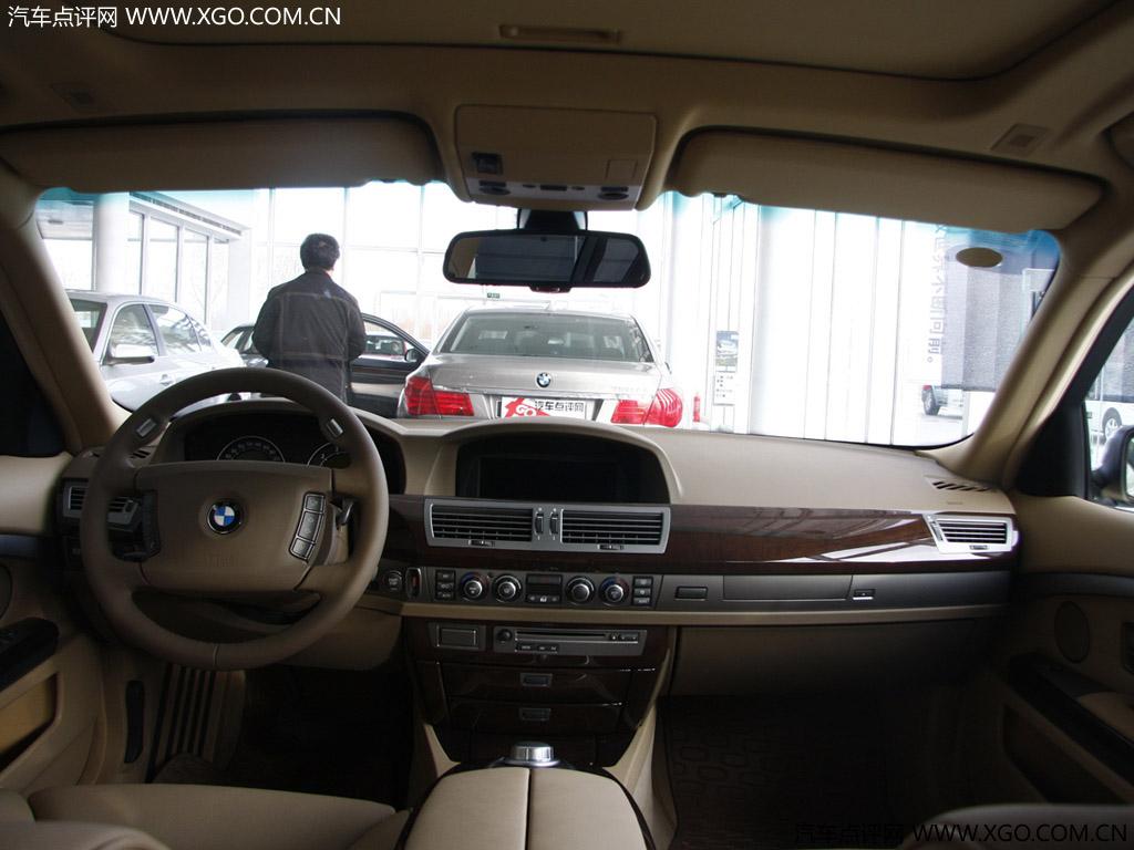 宝马 宝马7系 2005款宝马740li 中控方向盘图片 11 30 二手车>> 咨询