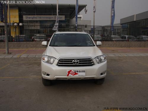 广丰汉兰达称雄国内大中型豪华SUV市场