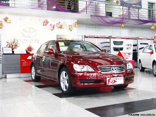 现车充足 丰田锐志最高现金优惠2.2万元