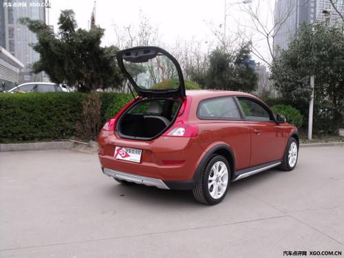 电动车,2013年将正式投入量产.   沃尔沃c30纯电动车还要在高清图片