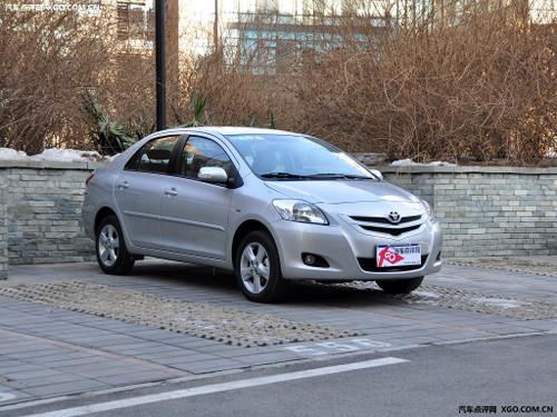 家用三厢车 一汽丰田威驰累计优惠2.5万高清图片