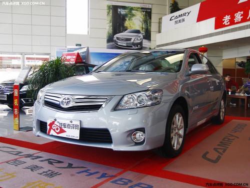 中型车热门选手 广丰凯美瑞最高降3.2万