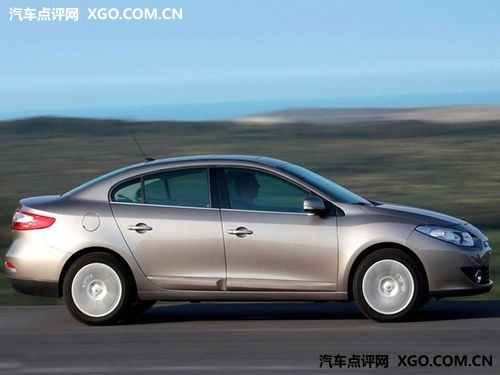 雷诺全新中级车风朗将于6月18日上市