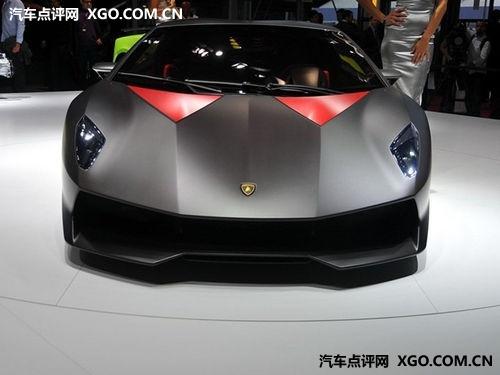 售190万欧元 兰博基尼Elemento即将量产