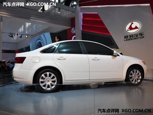 外形类似S40 广汽长丰CP2上海车展上市