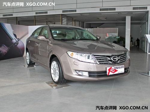 传祺广州累计让利9000元 店内现车销售