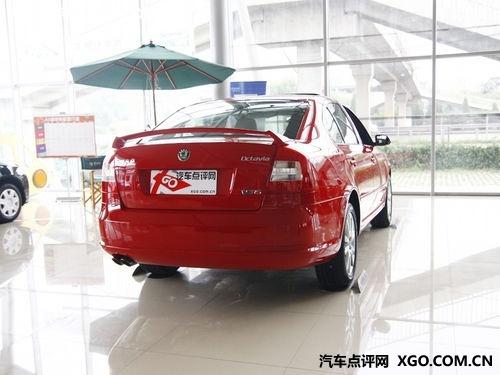 下周将上市 斯柯达明锐RS红色展车到店