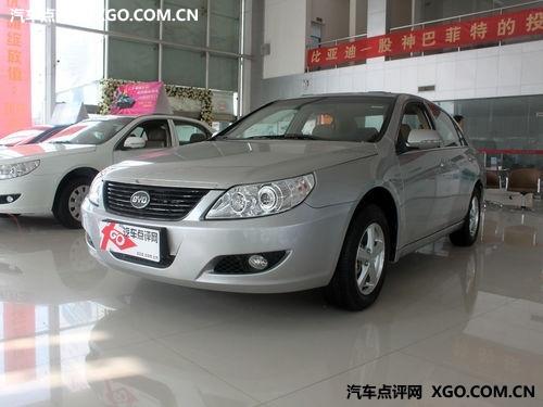 小降5000元 比亚迪F6有少量现车销售