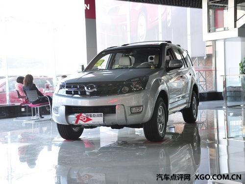 2010年1—11月 哈弗SUV出口1.55万台