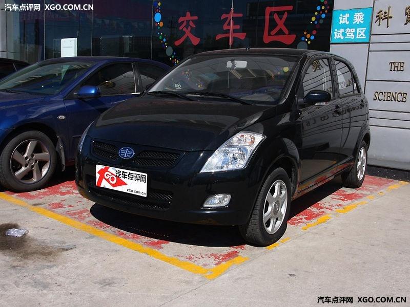 天津一汽珍珠黑2010款 威志V2 1.3AMT旗舰型车身外观图片 高清图高清图片