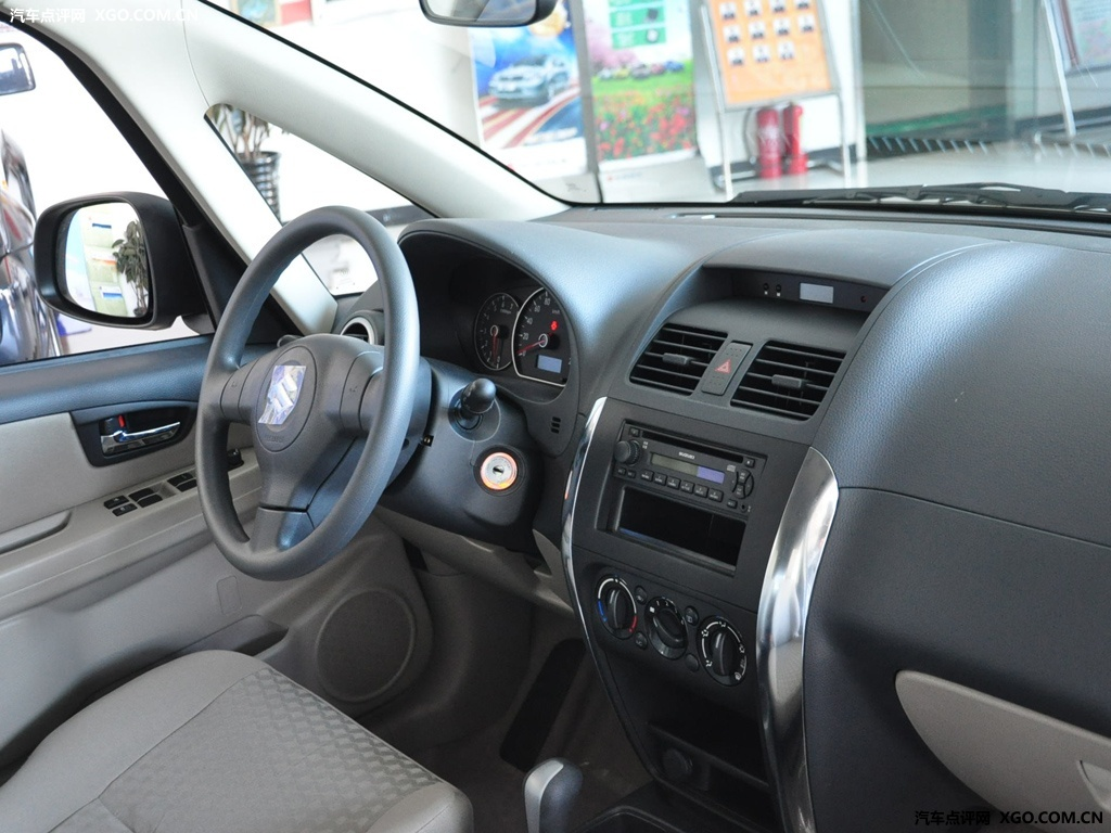 长安铃木 天语SX4 两厢 1.6AT 舒适型中控方向盘3030769高清图片
