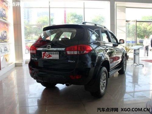 明年推汽油版 江铃驭胜七座版12月上市