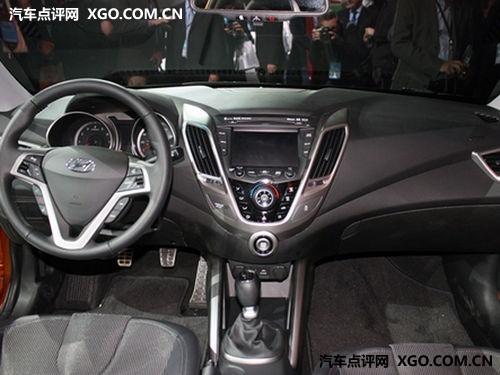 预售价17-20万元 现代Veloster 5月引入
