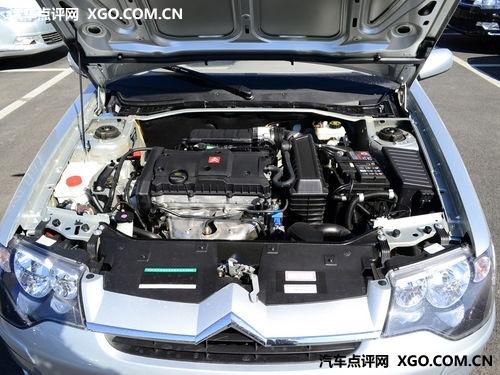 发动机舱内不同,采用原厂流水线一体化设计制造的新爱丽舍2011款cng