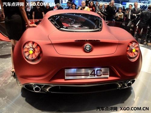 约44万人民币 阿尔法罗密欧4C即将量产