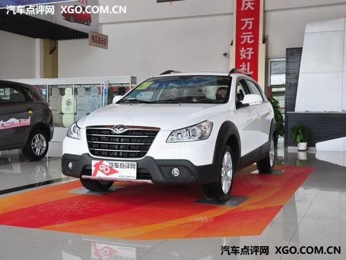 武汉车展高性价比车型 风神H30 CROSS
