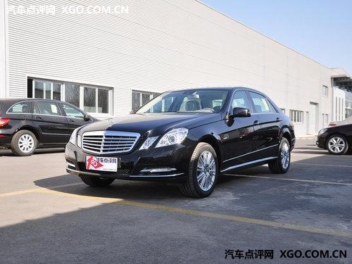 奔驰E级最高优惠13万元 时尚尊贵轿车