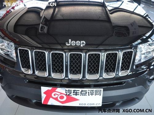 外形更具棱角 11款Jeep指南者到店实拍