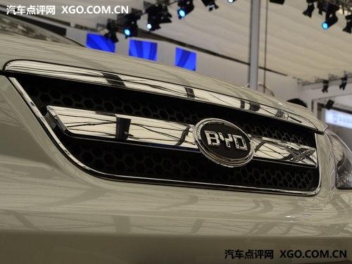 两种动力三种车型 比亚迪S6于今日上市