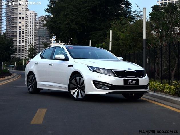 沧州悦达起亚K5优惠达3.2万元 现车充足