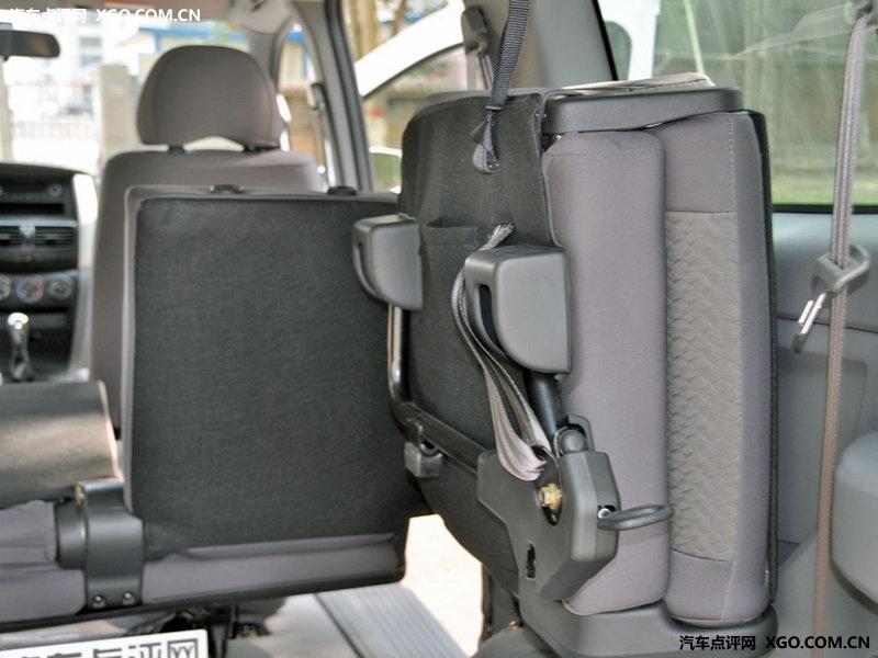 郑州日产2011款 帅客 舒适型 7座车厢座椅图片3098364 高