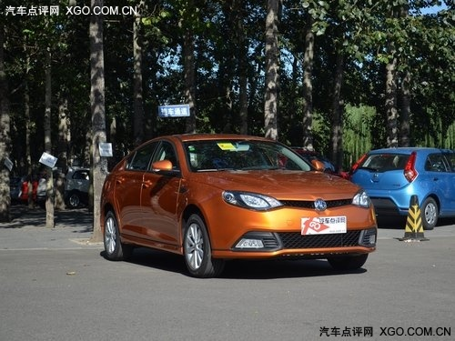 上汽MG6综合优惠2.1万元 购车送iphone4