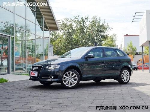奥迪A3南京最高现金优惠3万 少量现车