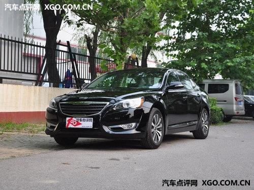 2012款凯尊全系优惠5000元 享金融购车