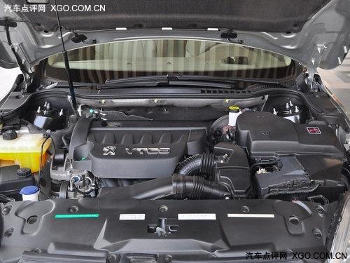 东风标致508发动机舱-来自欧洲的风韵 3款高性价比中型车推荐高清图片