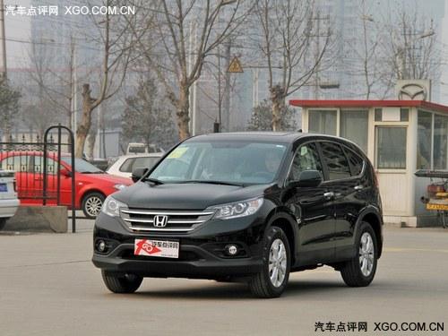 2012款 本田CR-V  2.4四驱豪华版
