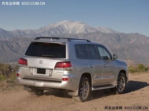 售价173.3万元 雷克萨斯新款LX570上市