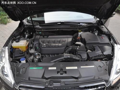 东风标致508发动机舱-每月需1600元 标致508全系用车成本解析高清图片