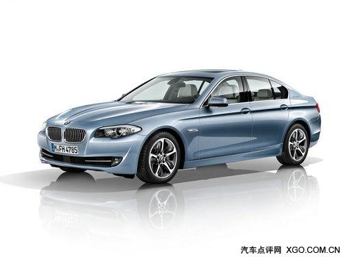 油耗仅6.4L 宝马5系混合动力版东京发布