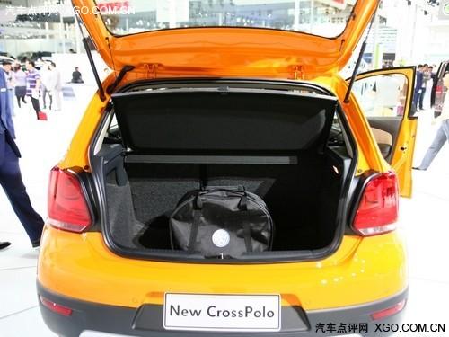 底盘略有提升 Cross POLO预计明年3月售