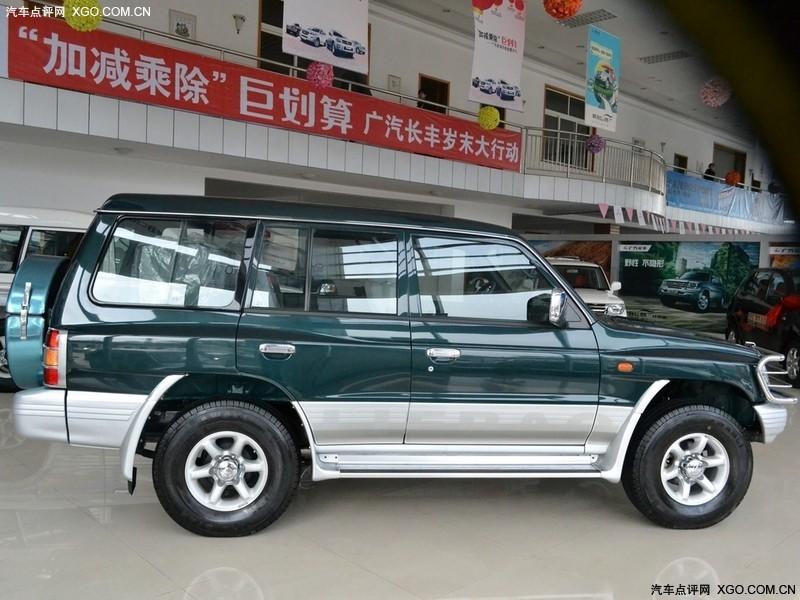 广汽长丰三菱绿2009款 猎豹黑金刚 2.4手动两驱车身外观图片3254702高清图片
