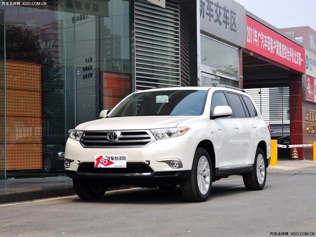三明广丰汉兰达购车优惠2万元高清图片