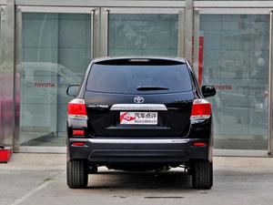 店里现车充足 汉兰达最高让利3.51万
