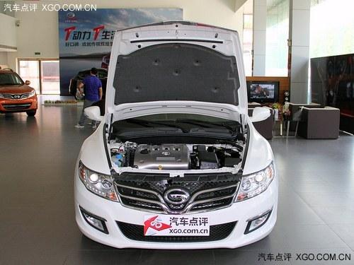 成都车展:传祺GA5新车型售15.38万起