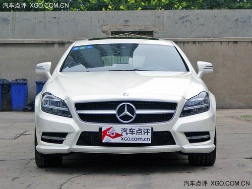 奔驰cls350猎装版白色 现车直降10万元 高清图片