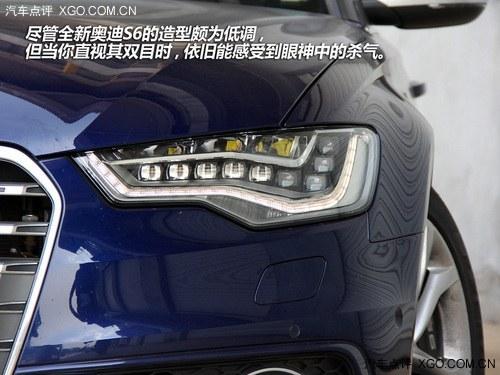 不容轻视的性能 赛道体验全新奥迪S6