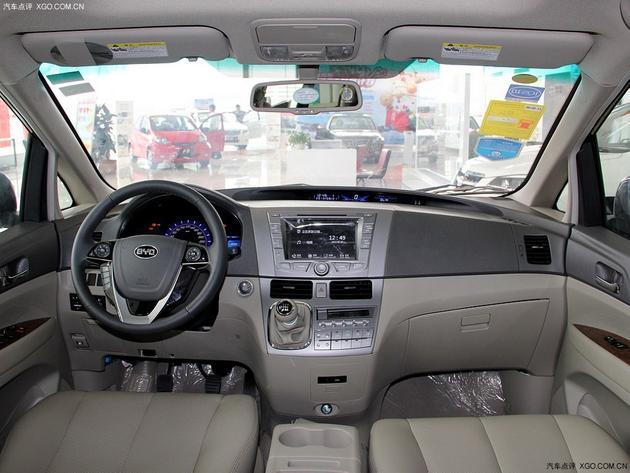 比亚迪M6增两款新车型 售13.59-14.59万