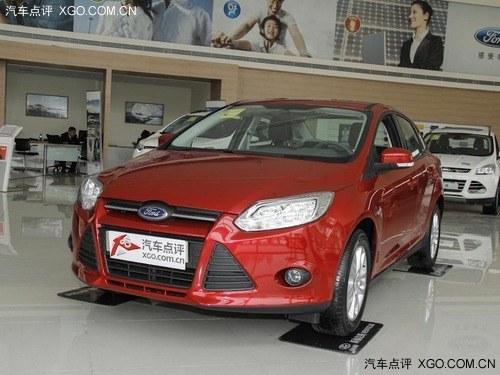 2012款 福克斯 三厢1.6L 自动舒适型